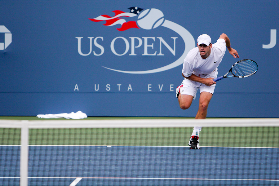 andy roddick - photo copyright mark da cunha.com